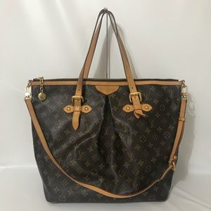 Authentic Louis Vuitton Monogram Palermo GM FIRM